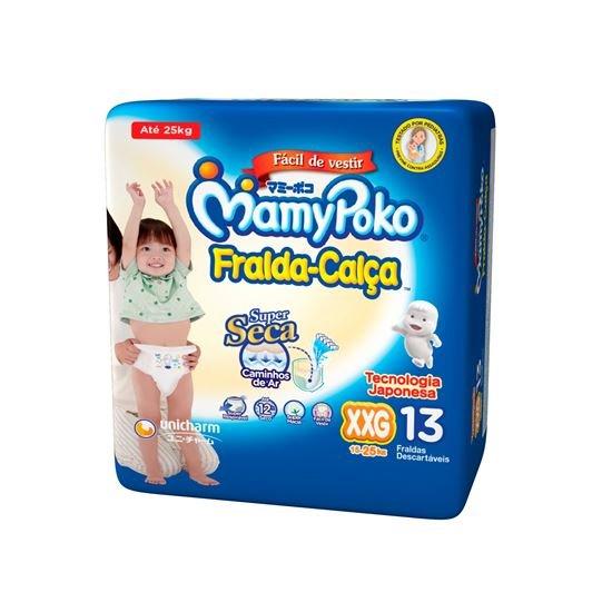 imagem de Fralda Mamypoko Calça Regular XXG - 13 unidades
