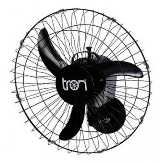 imagem de Ventilador de Parede Tron Oscilante 50cm C1 At Preto 140W - Bivolt