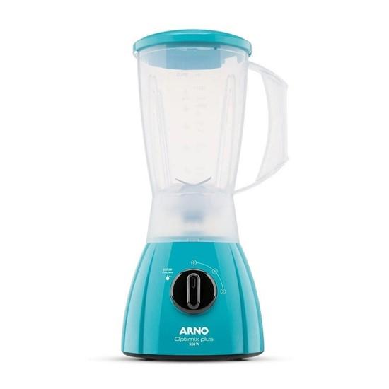 imagem de Liquidificador Optimix Plus Azul Turquesa LN26 - 110V