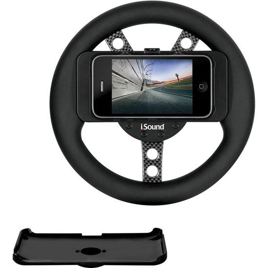 imagem de Volante para Jogos de Corrida para iPhone e iPod Touch - Isound 1598