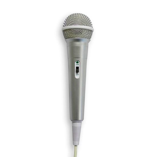 imagem de Microfone High Performance Dynamic Cardioide  Prata - Waldman