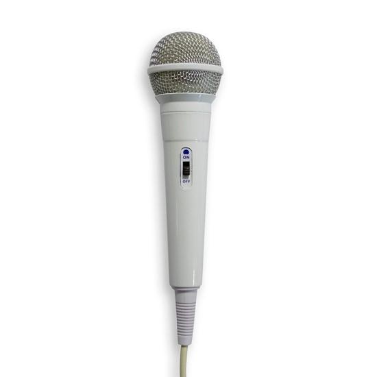 imagem de Microfone High Performance Dynamic Cardioide Branco - Waldman