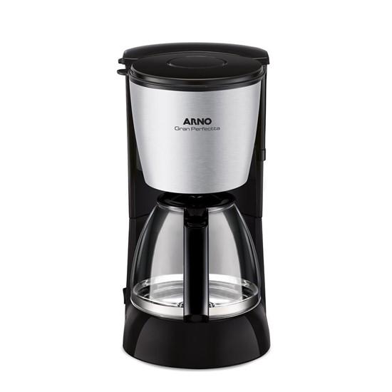 imagem de Cafeteira Gran Perfectta 2 Arno até 35 Xícaras de Café Inox - 110V