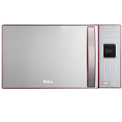 Imagem de Forno Micro-ondas Elétrico Philco 25 Litros PMe25 1400W Vermelho - 220V