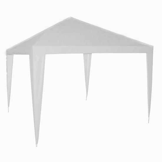 imagem de Tenda Gazebo Montável Botafogo em Alumínio 3x3 m Branco Lona Bagum - TEN0009
