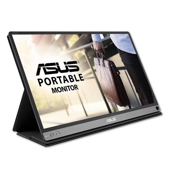 "imagem de Monitor Portátil Asus 15.6"", Full HD, IPS, USB-C, Ultra Leve, Ultra Fino, Display Widget - MB16AC"